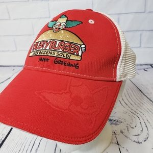 The simpsons Krusty burger mesh back hat